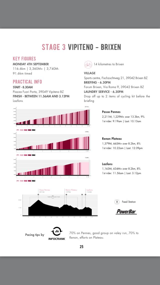 Haute Route Dolomites 2017 Stage3 : VIPITENO - BRIXEN