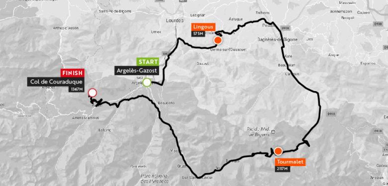 Haute Route Pyrenees 2018 Stgae3_maps