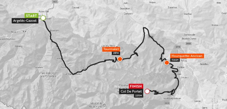 Haute Route Pyrenees 2018 Stgae4_maps