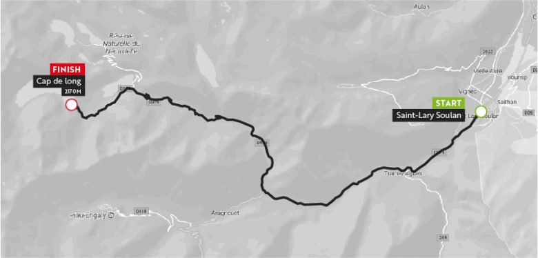 Haute Route Pyrenees 2018 Stgae5_maps