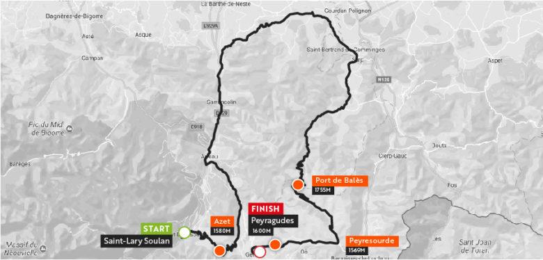 Haute Route Pyrenees 2018 Stgae6_maps