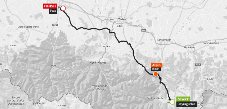 Haute Route Pyrenees 2018 Stgae7_maps