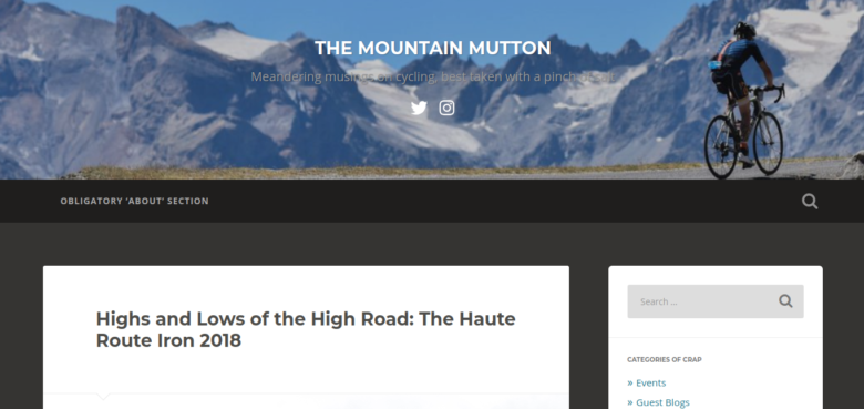 (C) THE MOUNTAIN MUTTON