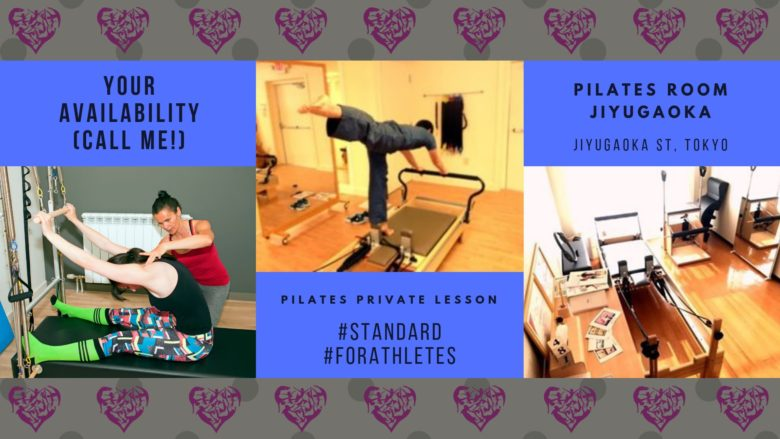 【PILATES】Private Lesson Standard, For Athletes